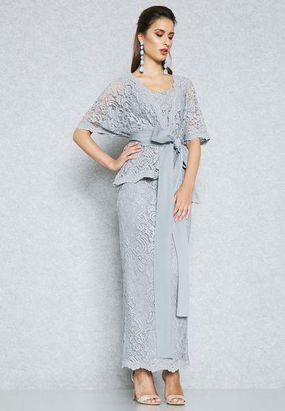 صورة فساتين دانتيل , اجمل الفساتين الدانتيل