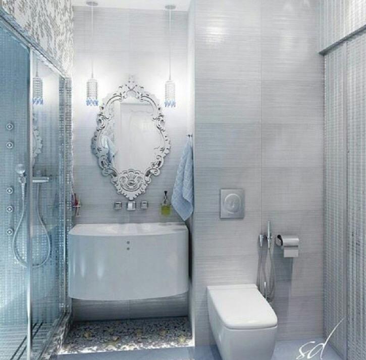 صورة ديكورات حمامات بسيطة , ابسط ديكور للحمامات