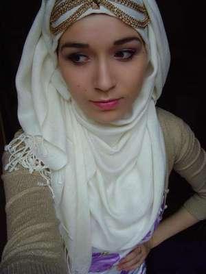صورة صور بنات محجبات حزينه , صور حزينة للبنات