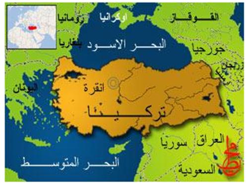 صورة خريطة تركيا بالعربي , خريطة توضيحية لتركيا بالعربية بين يديك