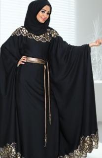 صورة عبايات كويتية , ارقى موديلات العبايات الكويتية