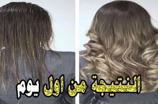 صورة تطويل الشعر في يوم , طرق تطويل الشعر