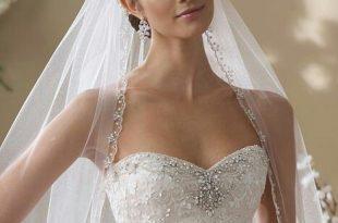 صورة طرحة العروس , اجدد اشكال لطرحة العروسة