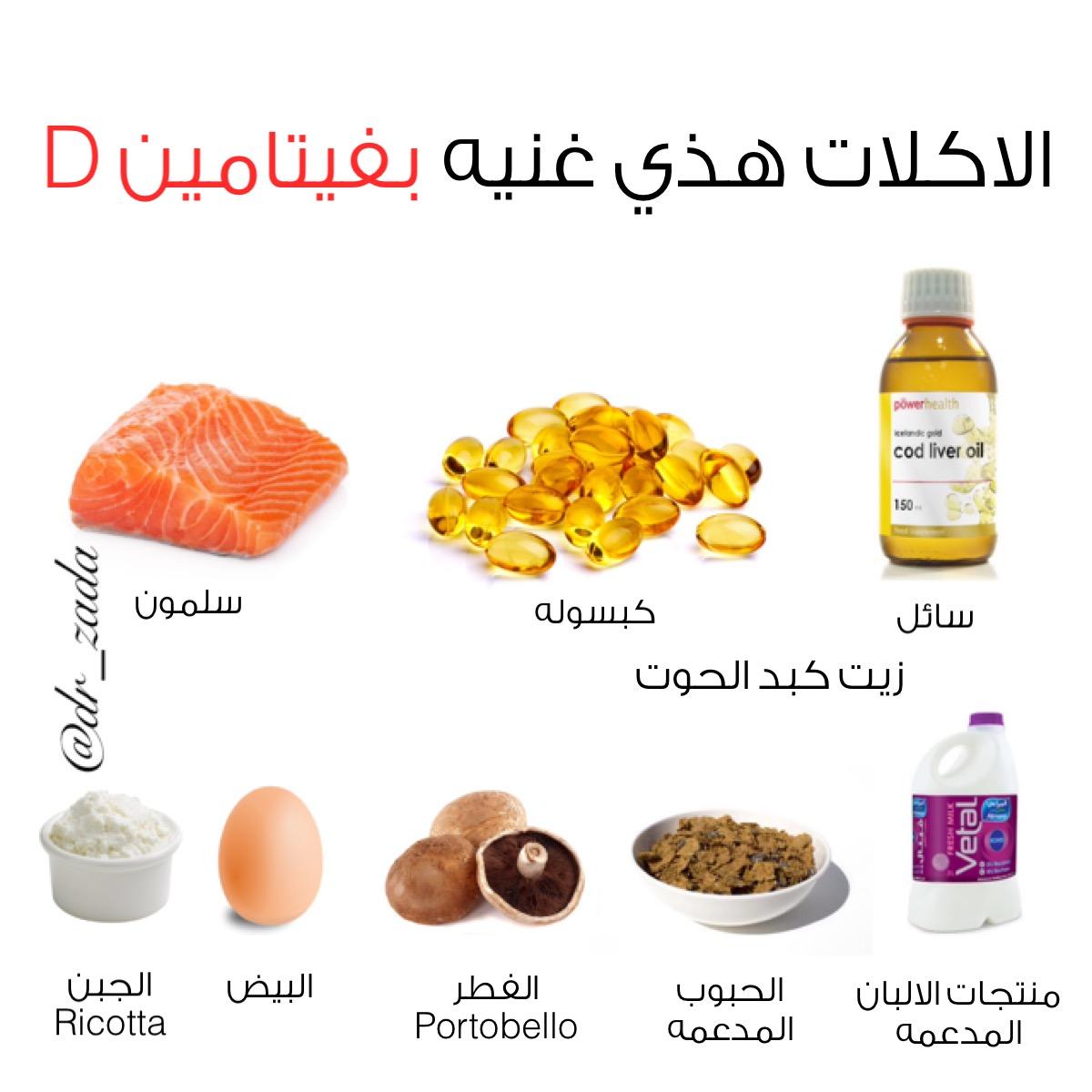 صورة مصادر فيتامين د , الاطعمه التي تحتوي ع فيتامين د
