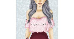 رسومات بنات حلوه , رسومات جميله لبنات حلوه