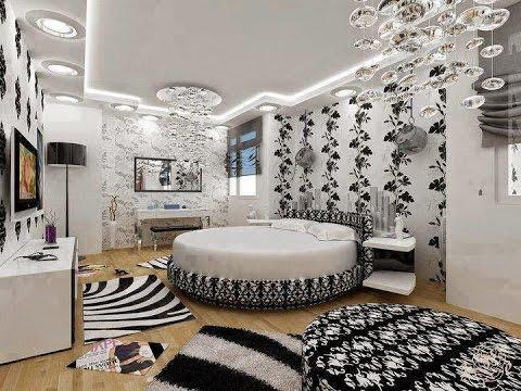 صورة ورق جدران لغرف النوم , الوان ورق جدران غرفة النوم