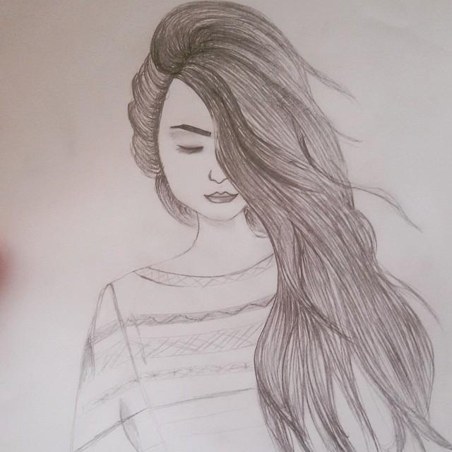 صور رسومات بنات سهله , صور رسومات بنات جميله وكيوته