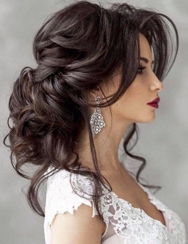 صورة تسريحات بسيطة للشعر الطويل , ارق تسريحات الشعر