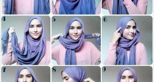 صورة طرق لف الحجاب , اخر صيحات الموضة