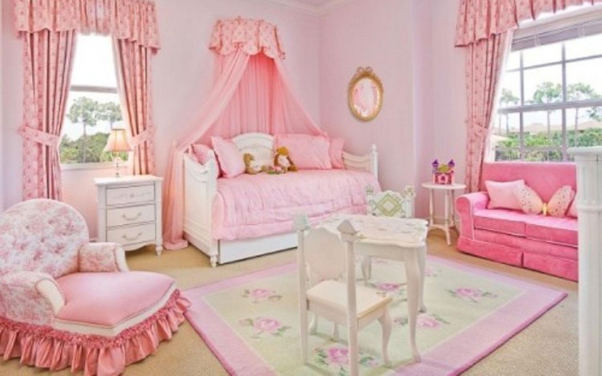 صورة غرف نوم اطفال بنات , اجدد اشكال غرف نوم البنات 591 2