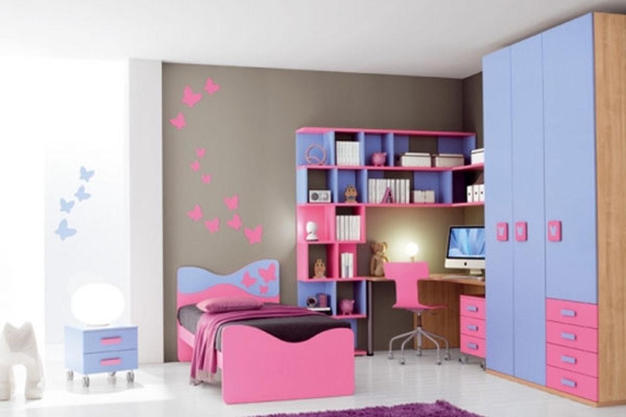 صورة غرف نوم اطفال بنات , اجدد اشكال غرف نوم البنات 591 5