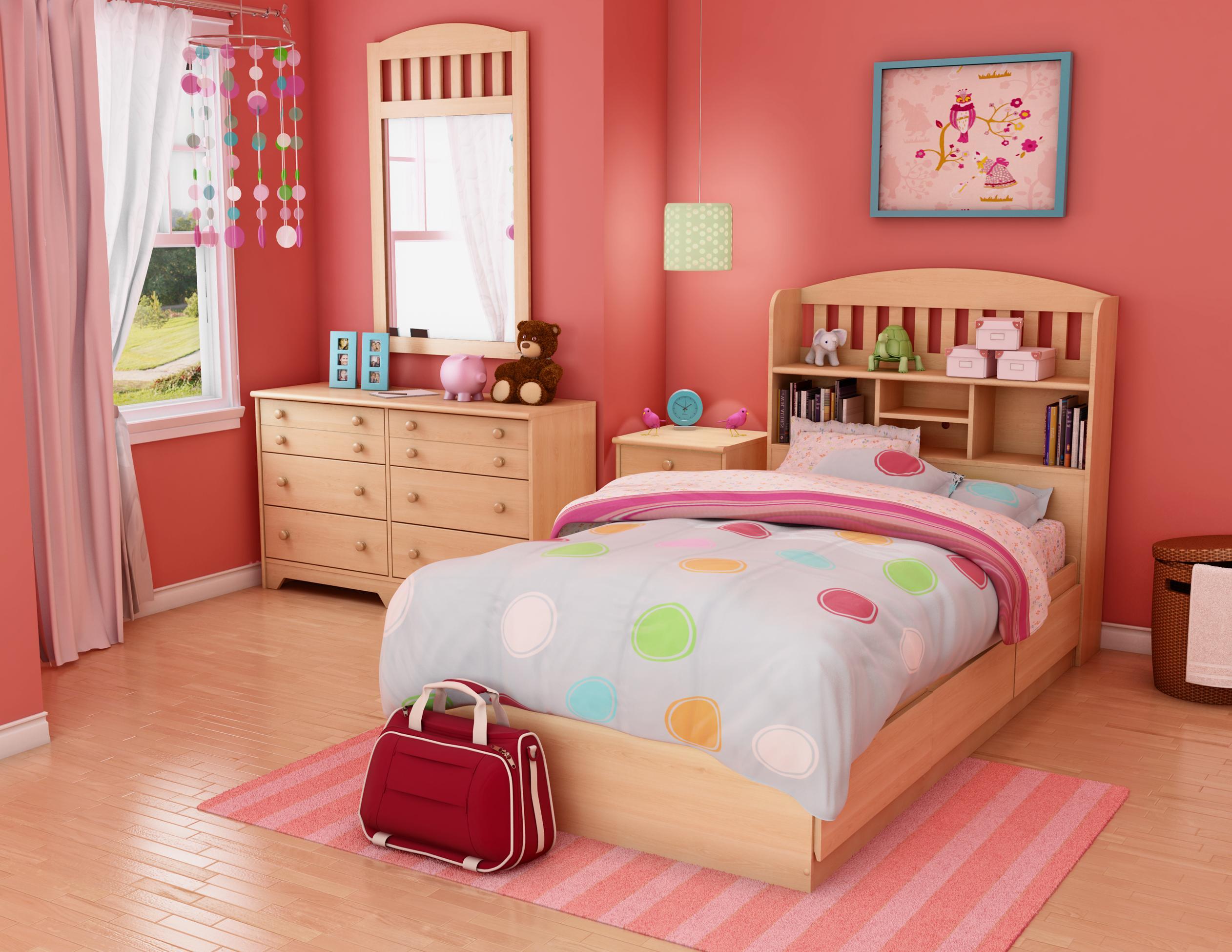 صورة غرف نوم اطفال بنات , اجدد اشكال غرف نوم البنات 591 6