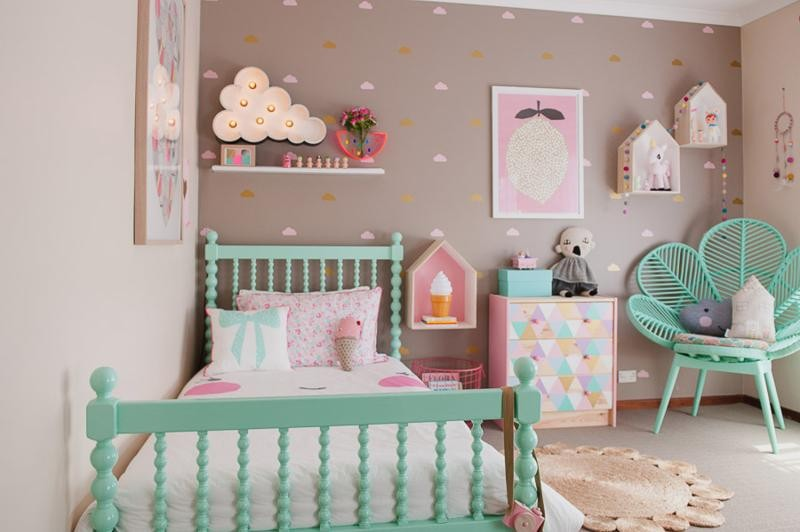 صورة ديكورات غرف نوم اطفال , احدث واجمل الديكورات لغرف الاطفال
