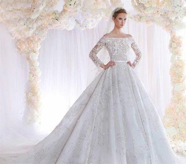 صور صور فساتين زفاف , اجمل واحدث فساتين الزفاف لعام 2019