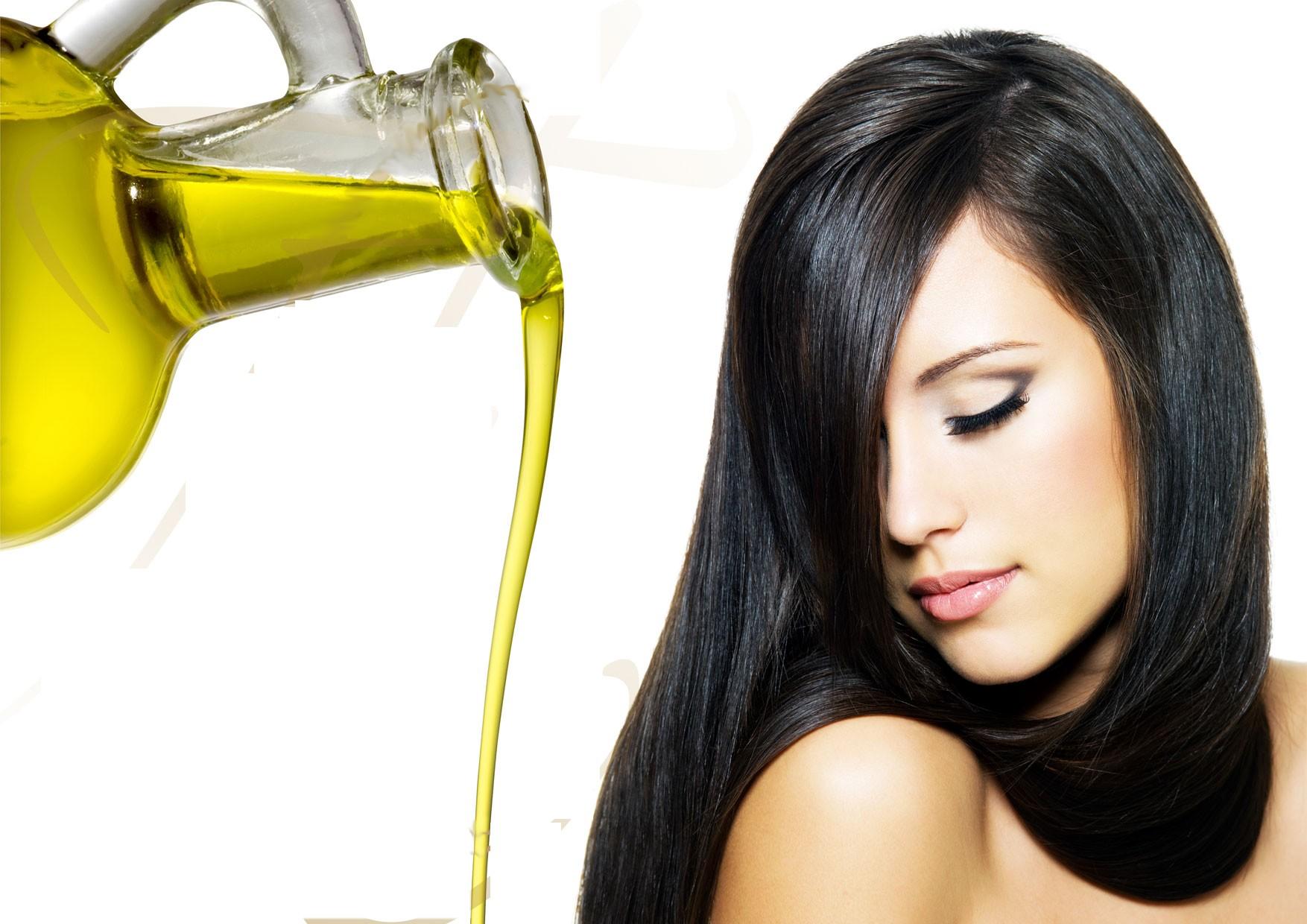 صورة زيت الزيتون للشعر , فوائد زيت الزيتون للشعر الخفيف