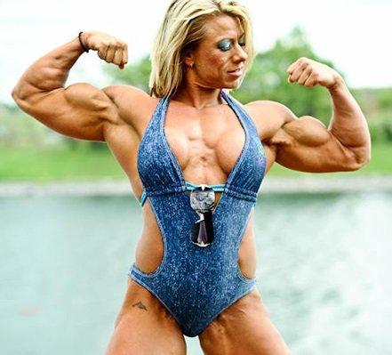 صورة كمال اجسام نساء , صور لاقوى نساء فى العالم كمال اجسام جامدين 274 3