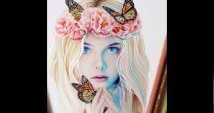 رسومات بنات جميلة , اجمل بنات للرسم
