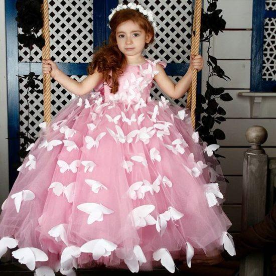 صورة فساتين سواريه اطفال , احلى موديلات فساتين للاطفال للمناسبات