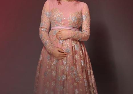 صور فساتين اعراس للحوامل , شاهدوا اجمل صور لفساتين سواريهات للمراه الحامل