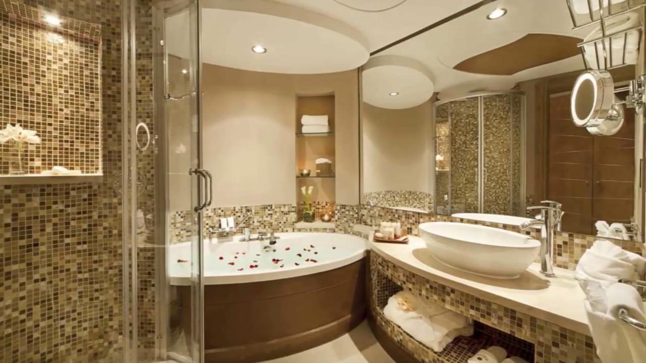 صورة ديكورات الحمامات , حمامات شيك جدا لاجمل عروسين