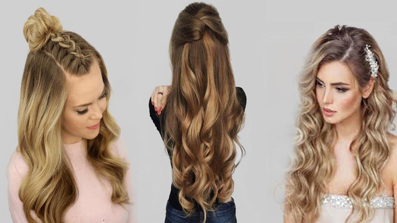 صورة تسريحات الشعر الطويل , اذا كان شعرك طويل ف قد تحتاجي الي هذه التسريحات