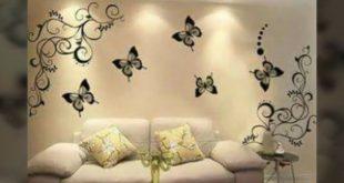 صورة ديكورات حوائط , اجدد الاشكال والالوان لديكورات الحوائط