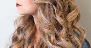 صورة تسريحات لشعر الطويل , اكثر ما يميز الشعر الطويل