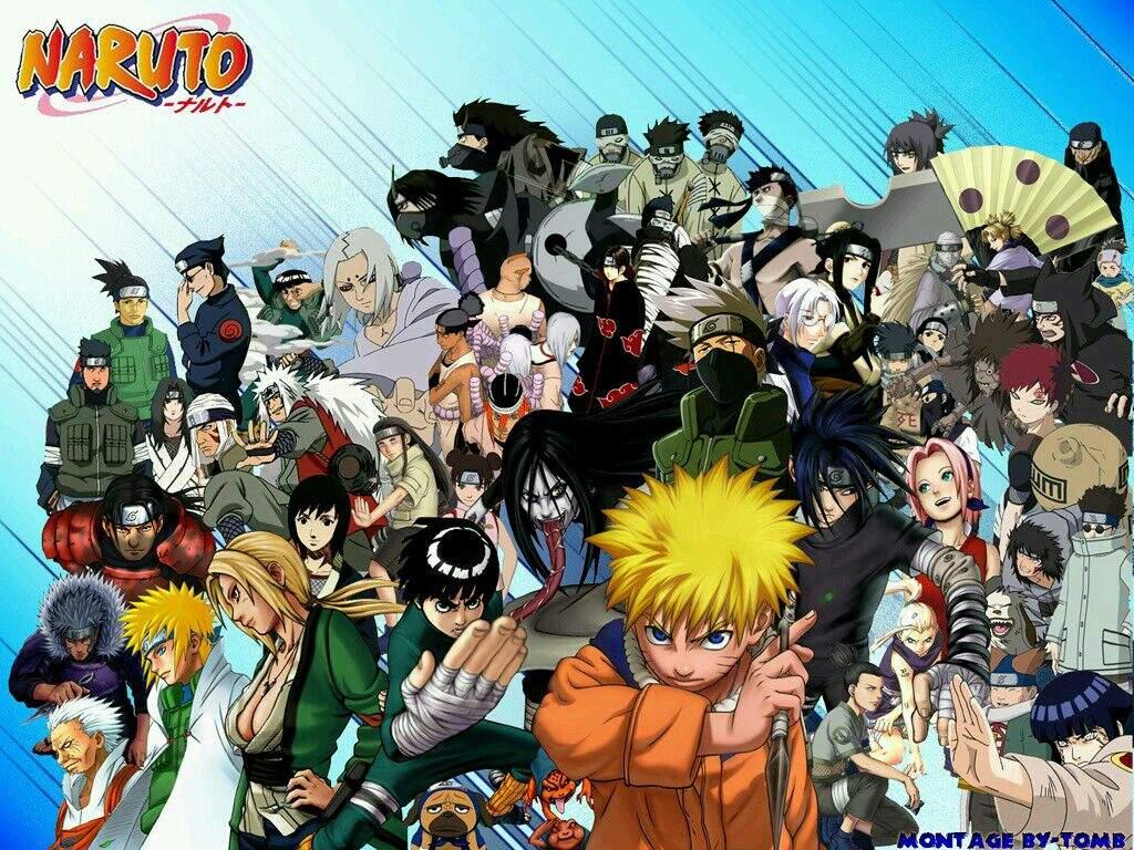 صورة جميع شخصيات ناروتو , اهم شخصيات اللعبة