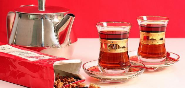 صورة توبيكات عن الشاي , احلى المشروبات التى تعدل المزاج