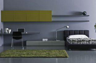 صورة غرف نوم الشباب , غرفة نوم مودرن