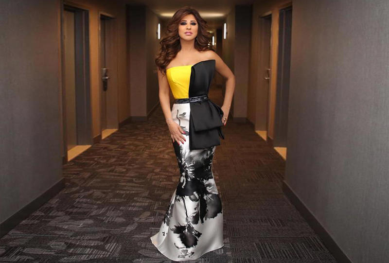 صورة احلي فساتين السهرة , فستان للسهرة شيك