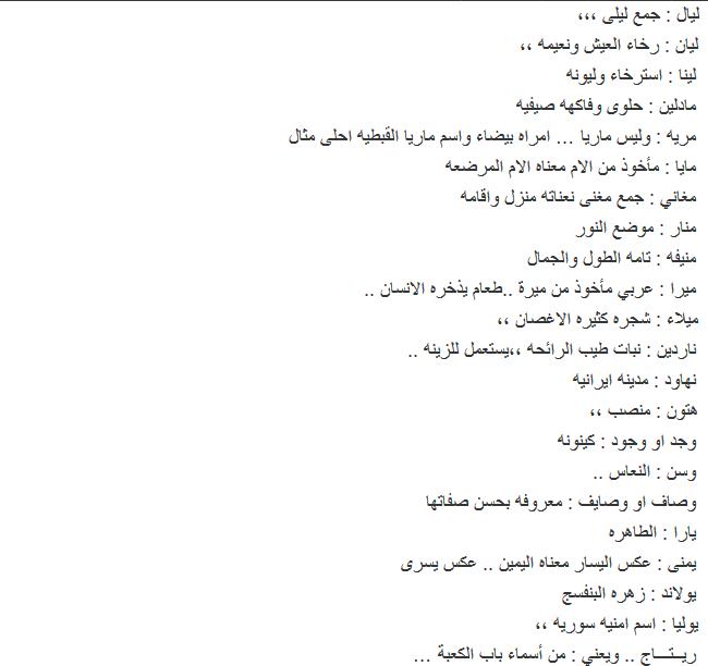 صورة اسماء بنات جدد , اجدد اسم بنت روعة