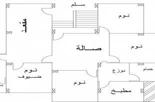 صور تصميم منزل 140 متر مربع , تصاميم متنوعة لمنزل 140 متر