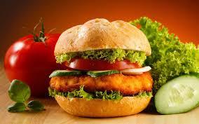 صور طريقة همبرجر الدجاج , همبورجر بالفراخ لذيذ