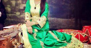 صورة ملابس العروس المغربية , اشيك الملابس المغربية