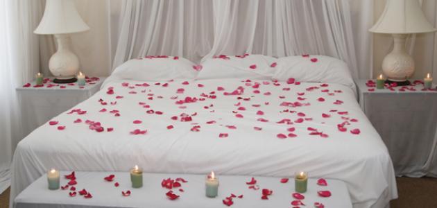 صورة افكار رومانسية للزوج , طرق رومانسية للبيت