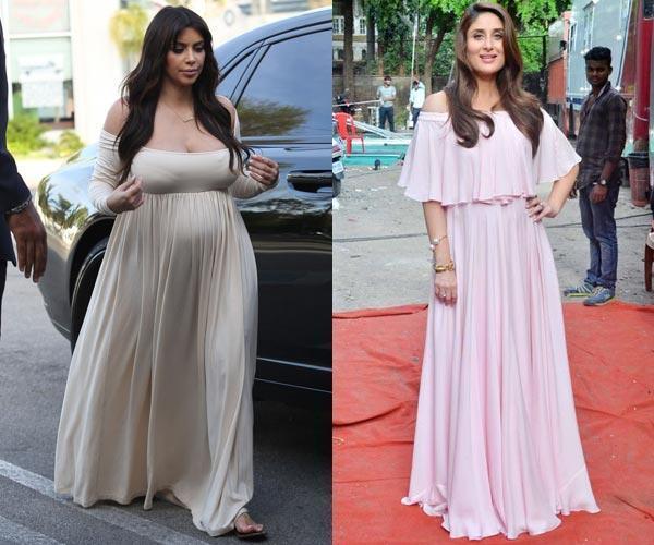 صورة فساتين حوامل للسهرات , فستان جميل لكل حامل