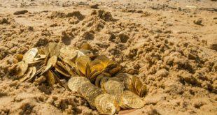 صور كيفية استخراج الذهب المدفون , اريد ان اكون غنى