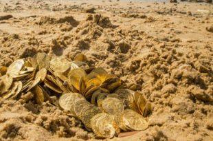 صورة كيفية استخراج الذهب المدفون , اريد ان اكون غنى