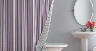 صور ستائر الحمام , اشكال والوان جديده لستائر الحمام