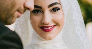 صور صور عرايس محجبات , الحجاب يجعل العروسه مميزه