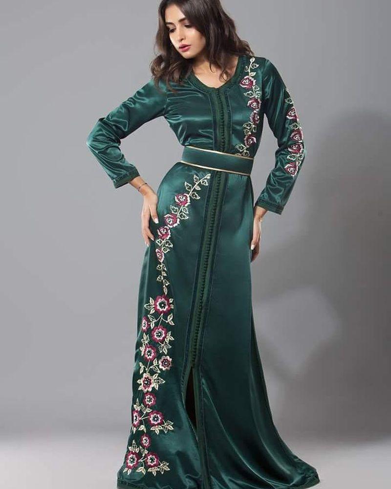 صورة صور قفطان مغربي , القفطان لباس مغربي شيك