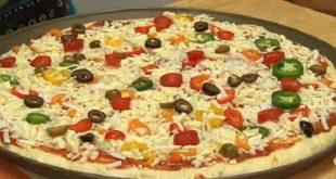 صور طريقة عمل البيتزا بالصور خطوة خطوة , البيتزا الذ واشهي الاكلات