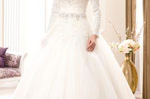 صور صور فساتين ابيض , اجمل فساتين الزفاف البيضه