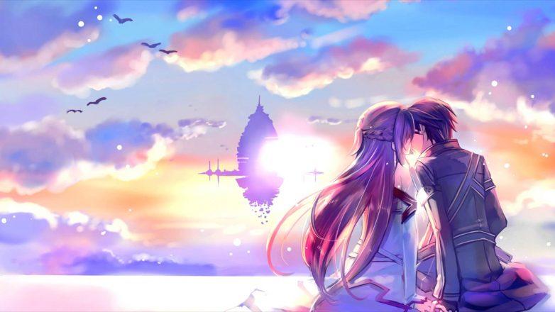 صورة صور انمي رومانسية , اجمل الصور الرومانسية للانمي