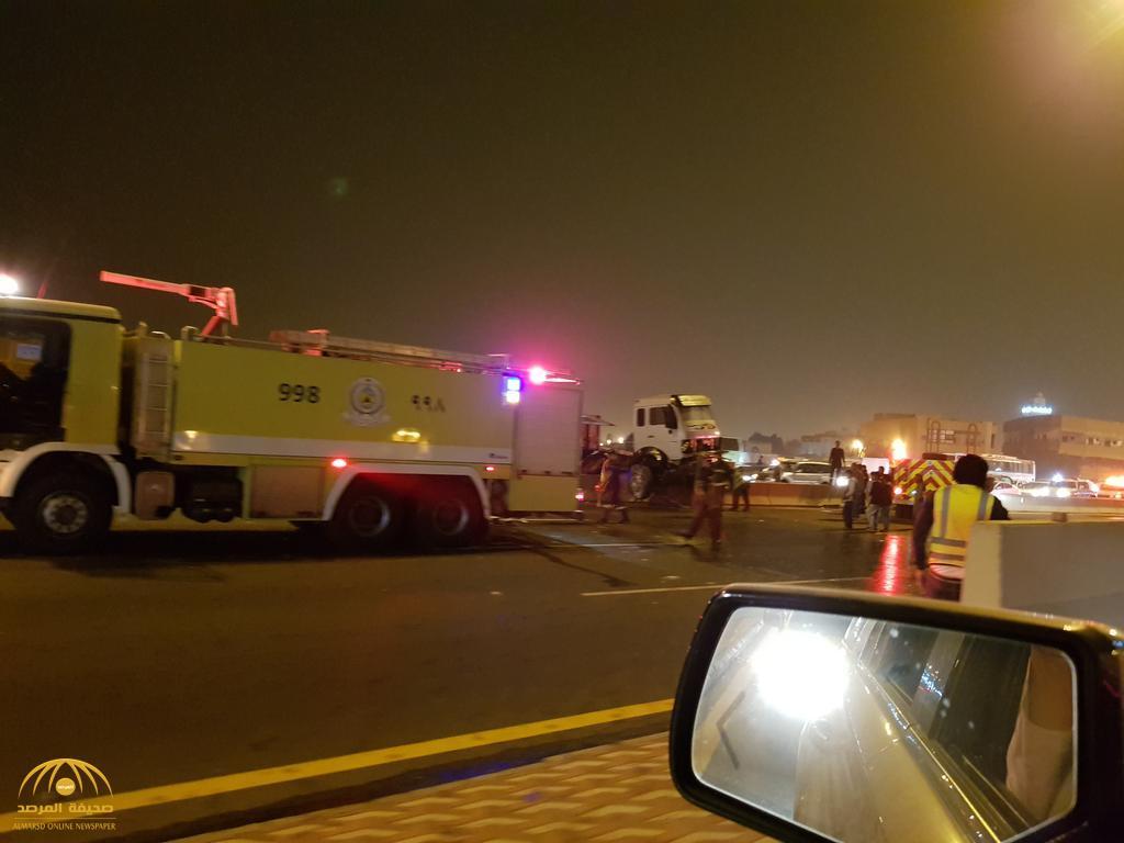 صورة مصور حادث المدينة , الوجع في حادث المدينة