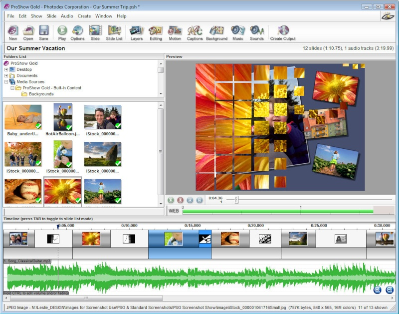 تحميل برنامج انشاء فيديو بالصور