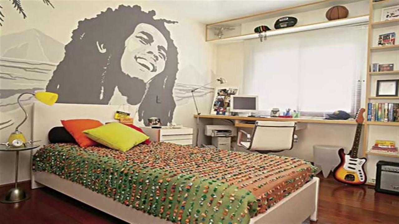 صورة ديكورات غرف نوم شباب , صيحات اوض نوم صبيان مراهقين