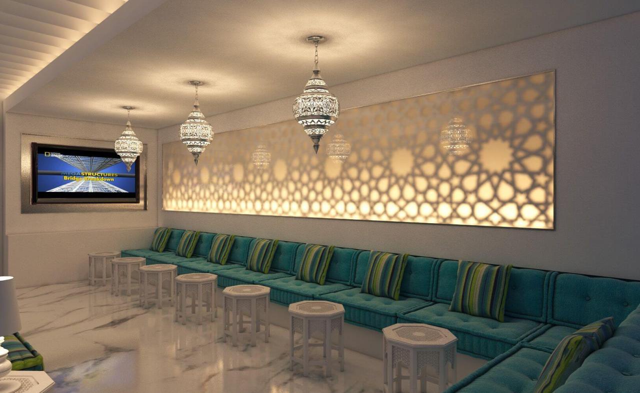 صورة ديكورات مجالس عربية , تصميمات قعدات عربي فخمه
