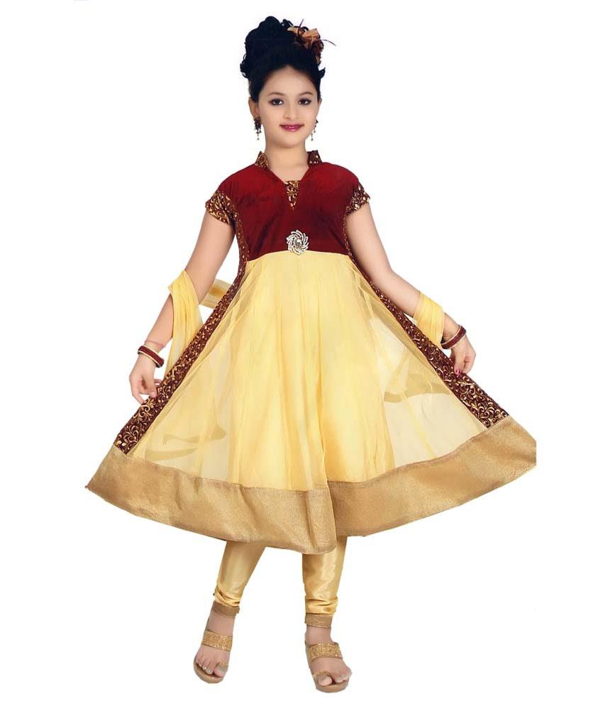 صور فساتين هندية للبنات الصغار , لبس بنوته هندى للاطفال